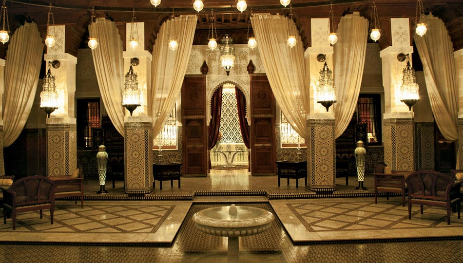 摩洛哥皇家曼苏尔酒店(Royal Mansour   Marrakech)
